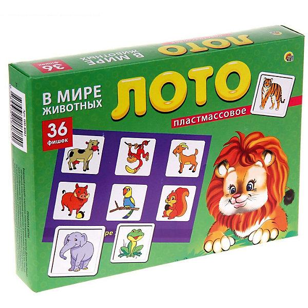 Настольная игра Рыжий кот Лото В мире животныхЛото<br>Характеристики: <br><br>• возраст: от 3 лет;<br>• материал: пластик, картон;<br>• количество игроков: 2-4;<br>• в наборе: 6 карточек, 36 фишек;<br>• вес упаковки: 420 гр.;<br>• размер упаковки: 29,5х21,5х40 см;<br>• страна бренда: Россия.<br><br>Детское лото от бренда «Рыжий кот» содержит цветные яркие карточки с изображением животных. Принцип игры строится на правилах классического лото. Играя, малыш изучает новые слова, запоминает зверей. Развивается логическое мышление и внимательность.<br><br>Лото пластиковое 36 фишек «В мире животных» можно купить в нашем интернет-магазине.<br>Ширина мм: 295; Глубина мм: 215; Высота мм: 400; Вес г: 420; Возраст от месяцев: 36; Возраст до месяцев: 2147483647; Пол: Унисекс; Возраст: Детский; SKU: 7926645;