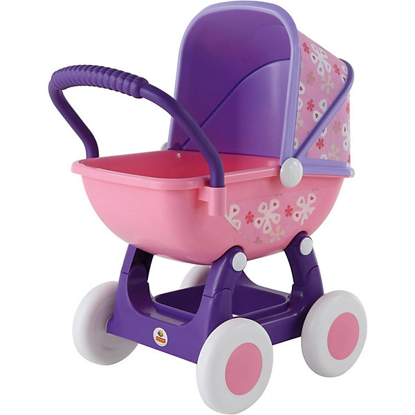 Коляска для куклы Полесье Arina №2 сиреневая с розовымТранспорт и коляски для кукол<br>Характеристики:<br><br>• тип игрушки: коляска;<br>• возраст: от 3 лет;<br>• материал: пластик;<br>• размер куклы: 48 см;<br>• цвет: сиреневый, розовый;<br>• вес: 1,76 кг;<br>• размер: 44,5х33,2х59,5 см;<br>• страна бренда: Беларусь;<br>• бренд: Полесье.<br><br>Коляска для куклы Полесье «Arina №2» сиреневая с розовым Полесье - непременный атрибут игровой любой девочки. Малышки просто обожают играть в дочки-матери: заботиться о куклах, наряжать их, кормить понарошку и, конечно, катать в коляске. Для малышки – это всего лишь игра, но зато какая: девочка учится простым навыкам, координации движений, развивает чувство ответственности и эмпатии.<br><br>Главная особенность данной коляски - это снимающийся козырек, данная функция придает коляске наибольшую интерактивность и размах для детских игр. Коляска выполнена из крепкого пластикового корпуса который установлен на 4-х пластиковых колесах - благодаря чему обеспечивается мягкость и плавность при движении коляски. В данную коляску можно усадить практически любую куклу размером до 48 см.<br><br>В Верхней части установлен защитный козырек от дождя (теперь ваша кукла не промокнет при прогулке под дождем). Изнутри козырек и сидение обклеены в красивые цветочные тона.<br><br>Коляску для куклы Полесье «Arina №2» сиреневая с розовым Полесье можно купить в нашем интернет-магазине.<br>Ширина мм: 445; Глубина мм: 332; Высота мм: 595; Вес г: 1760; Цвет: розовый; Возраст от месяцев: 36; Возраст до месяцев: 2147483647; Пол: Женский; Возраст: Детский; SKU: 7927292;