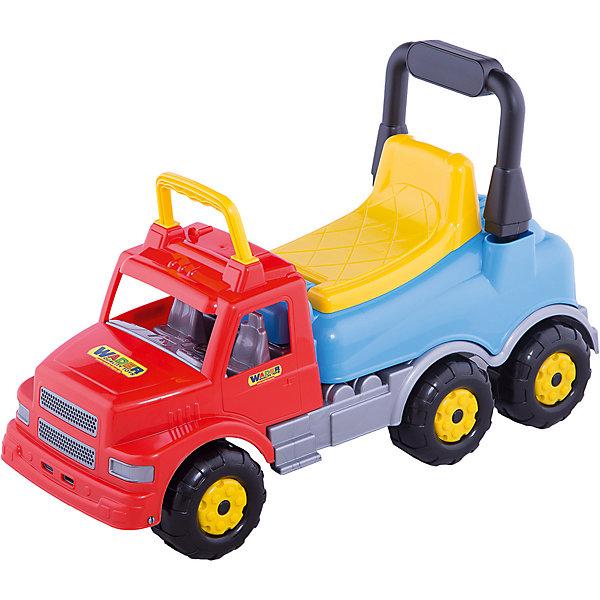 Каталка-автомобиль Полесье Буран №2, красно-голубаяМашинки-каталки<br>Характеристики:<br><br>• тип игрушки: каталка;<br>• возраст: от 3 лет;<br>• материал: пластик, металл;<br>• цвет: красный, голубой;<br>• вес: 2,5 кг;<br>• размер: 28,5х69х32,5 см;<br>• страна бренда: Беларусь;<br>• бренд:  Полесье.<br> <br>Каталка-автомобиль «Буран» №2 (красно-голубая) Полесье сможет привлечь внимание активных детей.Игрушка отличается красочным исполнением, оригинальным внешним видом, оснащена надежными массивными колесами, двумя ручками и эргономичной спинкой. Изделие изготовлено из качественного пластика и весьма прочное, что позволяет выдерживать вес до 50 килограмм. Езда на данной машинке-каталке подарит детям массу позитивных впечатлений.<br><br>Каталку-автомобиль «Буран» №2 (красно-голубая) Полесье можно купить в нашем интернет-магазине.<br>Ширина мм: 690; Глубина мм: 285; Высота мм: 325; Вес г: 2572; Цвет: синий/красный; Возраст от месяцев: 36; Возраст до месяцев: 2147483647; Пол: Унисекс; Возраст: Детский; SKU: 7927318;
