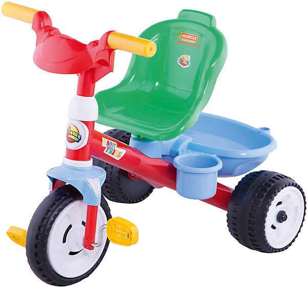 Трёхколесный велосипед Полесье Беби ТрайкВелосипеды детские<br>Характеристики:<br><br>• тип игрушки: велосипед;<br>• возраст: от 1 года;<br>• материал: пластик;<br>• цвет: голубой;<br>• вес: 3,2 кг;<br>• размер: 62х50х54 см;<br>• страна бренда: Беларусь;<br>• бренд: Полесье.<br> <br>Велосипед 3-х колёсный «Беби Трайк» Полесье - замечательная игрушка, которая и развлечёт, и разовьёт ребёнка! При езде работают все группы мышц, тренируется чувство баланса, равновесия, двигательная активность, внимание ребёнка. При катании на велосипедах от «Полесья» можно научить ребёнка основным правилам дорожного движения.<br><br>Велосипеды «Беби Трайк» от «Полесья» сделаны из качественной пластмассы, имеют удобное сиденье и пластмассовые колёса. Имеют функцию «свободное колесо». Ребёнок может ездить самостоятельно, так как педали велосипедов легко крутятся, а сам велосипед серии «Беби Трайк» от «Полесья» прост в управлении. <br><br>Велосипед 3-х колёсный «Беби Трайк» Полесье можно купить в нашем интернет-магазине.<br>Ширина мм: 625; Глубина мм: 500; Высота мм: 540; Вес г: 3204; Возраст от месяцев: 12; Возраст до месяцев: 2147483647; Пол: Унисекс; Возраст: Детский; SKU: 7927336;