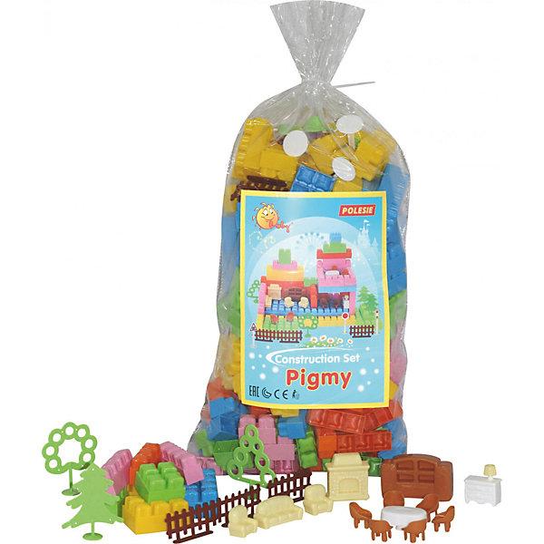 Конструктор Полесье Малютка 179 деталей, в пакетеПластмассовые конструкторы<br>Характеристики:<br><br>• тип игрушки: конструктор;<br>• возраст: от 3 лет;<br>• цвет: желтый, голубой, красный, розовый;<br>• комплектация: 179 эл;<br>• вес: 1,3 кг;<br>• размер: 42х24х18 см;<br>• страна бренда: Беларусь;<br>• бренд: Полесье.<br><br>Конструктор «Малютка»  Полесье 179  обязательно понравится ребёнку, благодаря своей необычной форме. Многообразие видов конструктора поможет остановиться на том, который максимально подойдёт для малыша. В некоторые наборы данной серии входит игрушечная мебель, благодаря которой ребёнок может не только строить домики, но и обустраивать их. <br><br>Конструктор «Малютка»  Полесье 179 можно купить в нашем интернет-магазине.<br>Ширина мм: 240; Глубина мм: 181; Высота мм: 420; Вес г: 1271; Возраст от месяцев: 36; Возраст до месяцев: 2147483647; Пол: Унисекс; Возраст: Детский; SKU: 7927354;