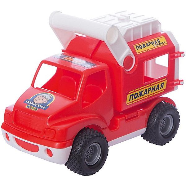 Машинка Полесье КонсТрак Пожарная команда, в коробкеМашинки<br>Характеристики:<br><br>• тип игрушки: машинка;<br>• возраст: от 3 лет;<br>• материал: пластик;<br>• цвет: красный;<br>• вес: 646 гр;<br>• размер: 16,5х20х30 см;<br>• страна бренда: Беларусь;<br>• бренд:  Полесье.<br> <br>Автомобиль «КонсТрак»  - пожарная команда» Полесье  прослужит долго и не сломается после первой прогулки.<br>Размер у машинок средний, ими удобно играть и дома и на улице. «КонсТрак» отлично подходит для оснащения детского сада, клуба или любой другой детской игровой площадки. Эти машинки,  имеют качественные сертификаты и все необходимые документы. В производстве использованы пищевые красители, это делает игрушку безопасной и для маленьких детей.<br><br>Автомобиль «КонсТрак» - пожарная команда» Полесье  можно купить в нашем интернет-магазине.<br>Ширина мм: 295; Глубина мм: 165; Высота мм: 200; Вес г: 646; Цвет: красный/белый; Возраст от месяцев: 36; Возраст до месяцев: 2147483647; Пол: Мужской; Возраст: Детский; SKU: 7927368;