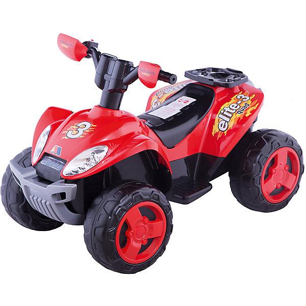 Каталка-квадроцикл Полесье Molto Elite 3, 6V (R)Электромобили<br>Характеристики:<br><br>• тип игрушки: квадроцикл;<br>• возраст: от 3 лет;<br>• материал: пластик;<br>• цвет: оранжевый, черный;<br>• вес: 12,3 кг;<br>• размер: 91х61х55 см;<br>• страна бренда: Беларусь;<br>• бренд:  Полесье.<br> <br>Квадроцикл «Molto Elite 3» 6V (R) Полесье – это четырехколесный электромобиль известного белорусского производителя Полесье. Модели этой серии  выполнены в двух цветах – желто-черным или красно-черном. Ребенку будет очень легко освоить управление рукояткой на руле, а так же кнопкой переключаться на задний ход. Электромобиль изготовлен из надежного и качественного пластика, электрические элементы надежно укрыты от детей. Идеально подходит для катания на твердой и ровной поверхности.<br><br>Квадроцикл «Molto Elite 3» 6V (R) Полесье  можно купить в нашем интернет-магазине.<br>Ширина мм: 910; Глубина мм: 550; Высота мм: 610; Вес г: 10533; Цвет: красный; Возраст от месяцев: 36; Возраст до месяцев: 2147483647; Пол: Унисекс; Возраст: Детский; SKU: 7927378;