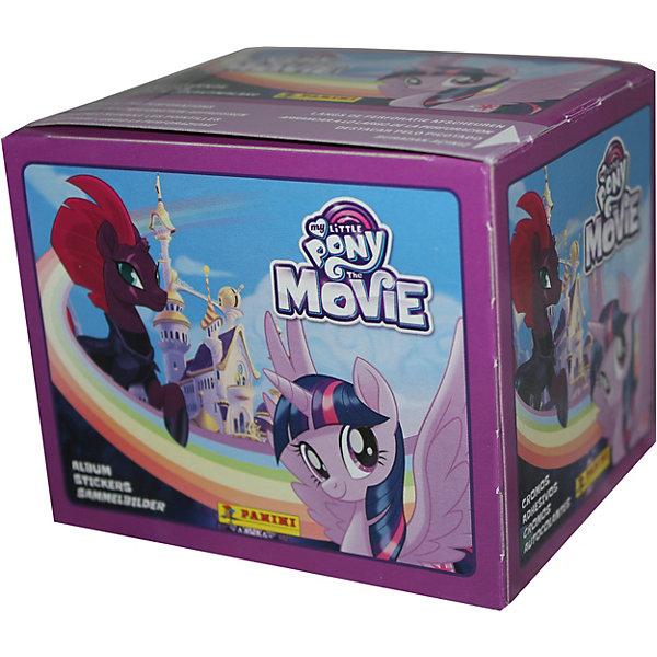 Наклейки Panini Мой маленький пони в кино, 50 пакетов по 5 наклеекКнижки с наклейками<br>Характеристики:<br><br>• возраст: от 3 лет<br>• издательство: Panini, 2017 г.<br>• комплектация: продается коробом, в коробке 50 пакетов<br>• в каждом пакетике 5 наклеек<br>• особенности: можно вклеивать несколько раз<br>• материал: бумага с клеевым слоем на подложке<br>• размер упаковки: 10х8 см.<br>• ВНИМАНИЕ! Данный артикул представлен в разных вариантах исполнения. К сожалению, заранее выбрать определенный вариант невозможно. При заказе нескольких пакетов с наклейками возможно получение одинаковых<br><br>Яркие качественные наклейки Panini (Панини) предназначены для вклеивания в альбом «Мой маленький пони в кино», который создан по мотивам одноименного мультфильма, рассказывающего об опасном путешествии храбрых пони, которые спасаясь от короля Шторма, покидают Эквестрию и отправляются в другую страну на поиски новых союзников для борьбы со злыми духами.<br><br>Всего в коллекции 204 наклейки с изображениями персонажей мультфильма, из них: 144 - базовых, 24 - фигурных, 24 - радужных, 12 - специальных.<br><br>Наклейки продаются отдельно в пакетах по 5 штук. Наклейки упакованы в непрозрачные пакеты и перемещены случайным образом, поэтому заранее определить, какие наклейки получит юный коллекционер невозможно.<br><br>Наклейки Panini Мой маленький пони в кино, 5 наклеек можно купить в нашем интернет-магазине.<br>Ширина мм: 80; Глубина мм: 100; Высота мм: 150; Вес г: 300; Возраст от месяцев: 36; Возраст до месяцев: 2147483647; Пол: Женский; Возраст: Детский; SKU: 7929489;