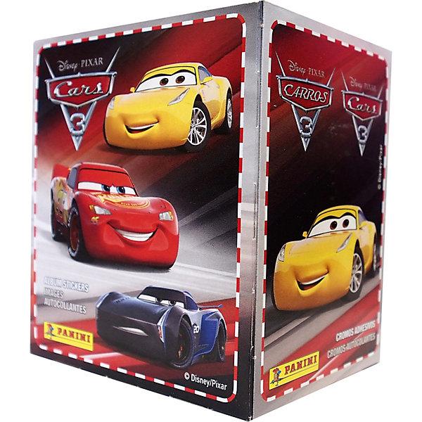 Наклейки Panini Disney: Тачки 3, 50 пакетов по 5 наклеекКнижки с наклейками<br>Характеристики:<br><br>• возраст: от 6 лет<br>• издательство: Panini, 2017 г.<br>• комплектация: продается коробом, в коробке 50 пакетов<br>• в каждом пакетике 5 наклеек<br>• особенности: можно вклеивать несколько раз<br>• материал: бумага с клеевым слоем на подложке<br>• размер упаковки: 10х8 см.<br>• ВНИМАНИЕ! Данный артикул представлен в разных вариантах исполнения. К сожалению, заранее выбрать определенный вариант невозможно. При заказе нескольких пакетов с наклейками возможно получение одинаковых<br><br>Яркие качественные наклейки Panini (Панини) предназначены для вклеивания в альбом «Disney: Тачки 3», который посвящен третьему мультфильму студий Disney и Pixar по самой популярной франшизе для мальчиков – «Тачки».<br><br>Всего в коллекции 208 наклеек с изображениями персонажей мультфильма, из них: 144 - базовых, 24 - блестящих, 4 - фигурных, 12 – объемных и 24 для постера.<br><br>Наклейки продаются отдельно в пакетах по 5 штук (4 обычных и 1 специальная). Наклейки упакованы в непрозрачные пакеты и перемещены случайным образом, поэтому заранее определить, какие наклейки получит юный коллекционер невозможно.<br><br>Наклейки  Panini Disney: Тачки 3, 5 наклеек можно купить в нашем интернет-магазине.<br>Ширина мм: 80; Глубина мм: 100; Высота мм: 150; Вес г: 300; Возраст от месяцев: 36; Возраст до месяцев: 2147483647; Пол: Мужской; Возраст: Детский; SKU: 7929507;