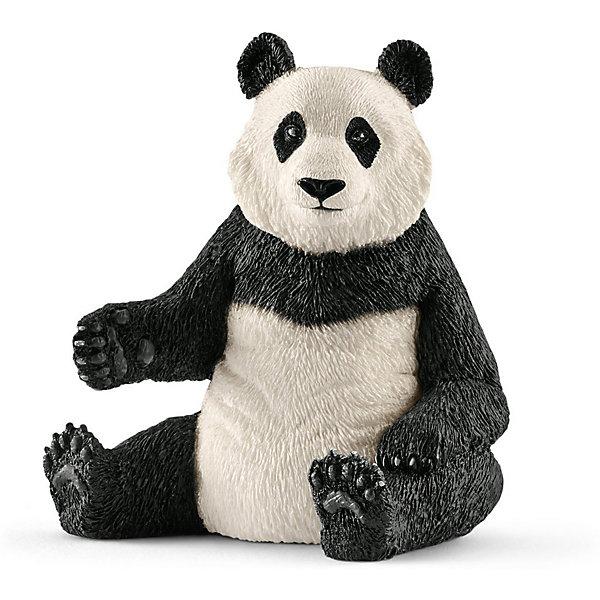 Коллекционная фигурка Schleich Дикие животные Гигантская панда, самкаМир животных<br>Характеристики:<br><br>• возраст: от 3 лет;<br>• материал: каучуковый пластик;<br>• размер игрушки: 10х5х3,5 см;<br>• вес упаковки: 136 гр.;<br>• размер упаковки: 10х5х3,5 см;<br>• страна бренда: Германия.<br><br>Фигурка от бренда Schleich – детализированная копия самки гигантской панды. Фигурка с точностью передает особенности строения тела животного, внешний вид шерсти, характерную позу. Высокая реалистичность – результат регулярного сотрудничества с Берлинским зоопарком.<br><br>В изготовлении каждой фигурки «Шляйх» учитываются рекомендации педагогов для того, чтобы игрушка была интересна и полезна ребенку, комфортно располагалась в руках. Фигурка раскрашена вручную, сделана из прочных безопасных материалов, не вызывающих аллергию.<br><br>Фигурка подойдет для сюжетно-ролевых игр, а также может стать частью большой коллекции реалистичных копий животных Schleich.<br><br>Фигурку Schleich Гигантская панда, самка можно купить в нашем интернет-магазине.<br>Ширина мм: 62; Глубина мм: 59; Высота мм: 76; Вес г: 136; Возраст от месяцев: 36; Возраст до месяцев: 2147483647; Пол: Унисекс; Возраст: Детский; SKU: 7929598;