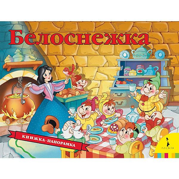 Книжка-панорамка БелоснежкаКнижки-панорамки<br>Характеристики товара:<br><br>• ISBN: 9785353087618;<br>• возраст: от 0 лет;<br>• иллюстрации: цветные;<br>• переплет: твердый;<br>• материал: картон;<br>• количество страниц: 12;<br>• формат: 25,5х19,5х1,5 см.;<br>• вес: 310 гр.;<br>• издательство: Росмэн;<br>• страна: Россия.<br><br>Книжка-панорамка «Белоснежка» - чудесная сказка о Белоснежке и семи гномах с яркими и современными иллюстрациями. На каждом развороте раскрываются объемные панорамные конструкции и любимые персонажи оживают, а книжка превращается для малыша в настоящий театр!<br><br>Страницы издания выполнены из объемного картона отличного качества, безопасного для здоровья ребёнка. Благодаря небольшому формату книгу приятно и удобно держать в руках. Все книги компании Росмэн имеют требуемую сертификацию для производства детских товаров.<br><br>Идеальный выбор для совместных занятий вдвоём с ребёнком, а также отличный вариант в качестве познавательного красочного подарка. Такая книга поможет ребенку развить внимание, логическое мышление, укрепит память, мелкую моторику и усидчивость.<br><br>Книжку-панорамку «Белоснежка», 12 стр., Изд. Росмэн можно купить в нашем интернет-магазине.<br>Ширина мм: 255; Глубина мм: 195; Высота мм: 15; Вес г: 310; Возраст от месяцев: 0; Возраст до месяцев: 60; Пол: Унисекс; Возраст: Детский; SKU: 7931686;