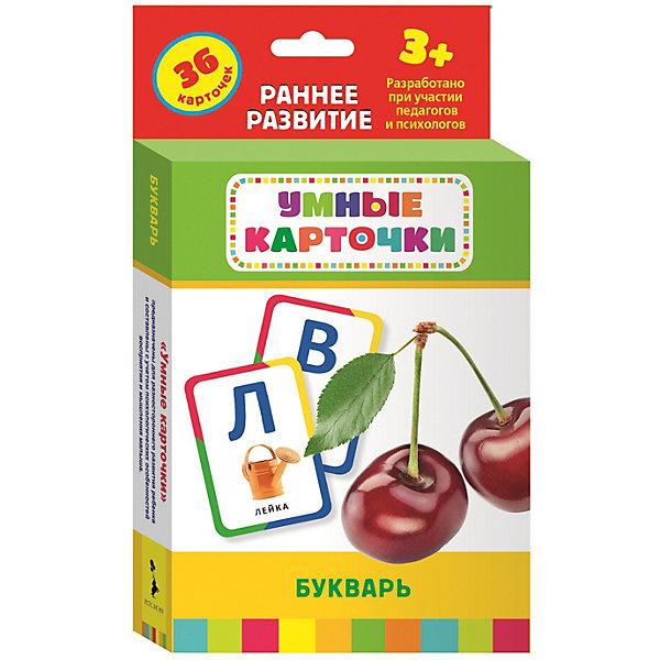 Купить Развивающие карточки Букварь , 3+, Росмэн, Россия, Унисекс