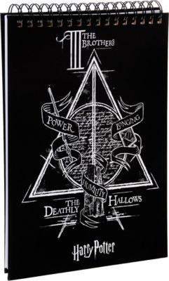 Планшет для записи  Гарри Поттер. Дары смерти  А4, навивка, артикул:7932319 - Канцтовары