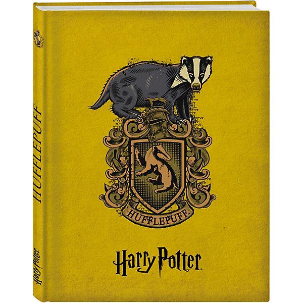 Блокнот Гарри Поттер. Факультет ПуффендуйБумажная продукция<br>Характеристики:<br><br>• тип игрушки: книга;<br>• возраст: от 12 лет;<br>• материал: бумага;<br>• ISBN:  978-5-699-98516-6;<br>• количество страниц: 164 (офсет);<br>• переплет: твердый;<br>• вес: 329 гр;<br>• размер: 21х14,5х1,5 см;<br>• издательство: Эксмо.<br><br>Книга «Блокнот. Факультет Пуффендуй» Эксмо повторяет коллекционные издания книг! <br>Эксклюзивные оформления четырех факультетов - Гриффиндор, Слизерин, Когтевран, Пуффендуй со стильными гербами и главными животными факультетов и все в сочных фирменных цветах с закрашенным в тон обрезом. Внутри вы найдете максимально удобный блок в линейку для записи ваших мыслей и дел. Станьте обладателем коллекционных блокнотов магической вселенной!<br><br>Книгу «Блокнот. Факультет Пуффендуй» Эксмо  можно купить в нашем интернет-магазине.<br>Ширина мм: 210; Глубина мм: 145; Высота мм: 15; Вес г: 329; Возраст от месяцев: 144; Возраст до месяцев: 180; Пол: Унисекс; Возраст: Детский; SKU: 7932359;