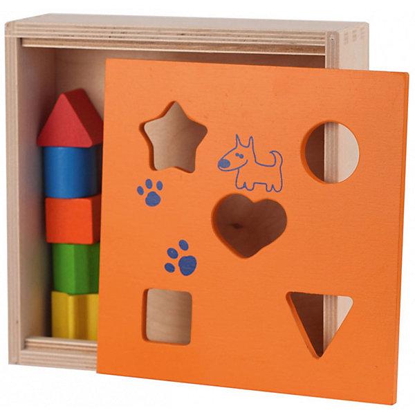 Сортер Краснокамская игрушка СортировщикРазвивающие игрушки<br>Характеристики:<br><br>• тип игрушки: сортер;<br>• возраст: от 3 лет;<br>• материал: дерево;<br>• комплектация: короб из дерева, легко снимаемая крышка, 10 фигурок различной формы;<br>• вес: 786 гр;<br>• размер: 24х22х6,5 см;<br>• страна бренда: Россия;<br>• бренд: Краснокамская игрушка.<br><br>Сортер «Сортировщик» занимательная игрушка позволит малышам сортировать детали по форме и превратить обучение в увлекательную игру. Развивает мелкую моторику рук, координацию движений, глазомер, внимательность, мышление, сенсорное развитие. Все фигурки окрашены в яркие, жизнерадостные цвета — оранжевый, красный, зеленый, синий, поэтому определенно привлекут внимание любопытных мальчишек и девчонок. <br><br>Но вместе с тем эта игрушка — не просто развлечение. Она позволяет детям развивать мелкую моторику, улучшать координацию движений, глазомер, внимание, память и наглядное мышление. Игрушка предназначена для детей младших возрастов, а потому производитель позаботился о ее безопасности. <br><br>Все фигурки сделаны из отшлифованного дерева, а нанесена на них безопасная для здоровья акриловая краска. Потому набор может прослужить долго и не причинит чаду вреда, даже если ребенок захочет попробовать игрушки «на вкус».<br><br>Сортер «Сортировщик»  можно купить в нашем интернет-магазине.<br>Ширина мм: 220; Глубина мм: 240; Высота мм: 65; Вес г: 786; Возраст от месяцев: 36; Возраст до месяцев: 2147483647; Пол: Унисекс; Возраст: Детский; SKU: 7932383;