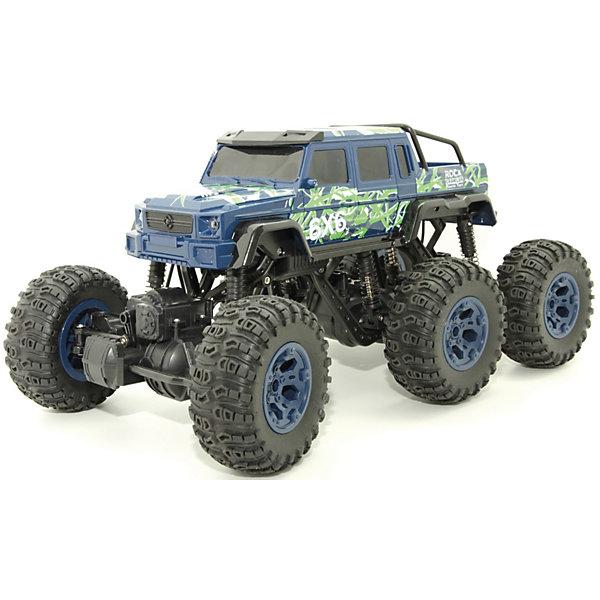 Купить Радиоуправляемая машина Balbi Внедорожник Crawler 6х6 , синий, Россия, Мужской