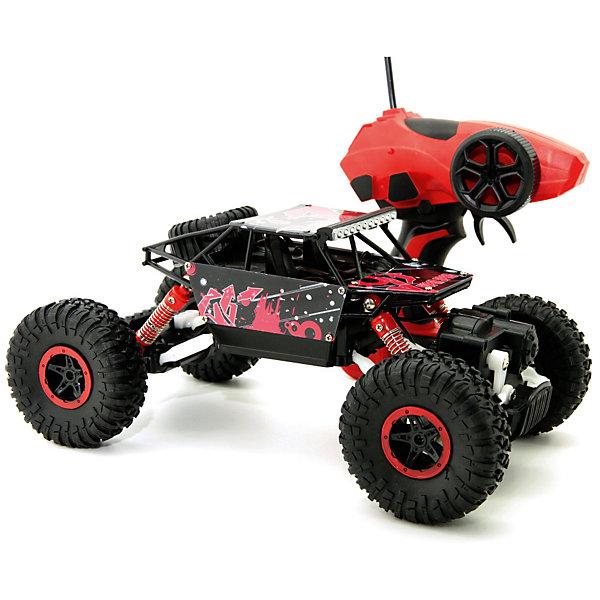 Купить Радиоуправляемая машина Balbi Внедорожник Crawler 1:18, красный, Россия, Мужской
