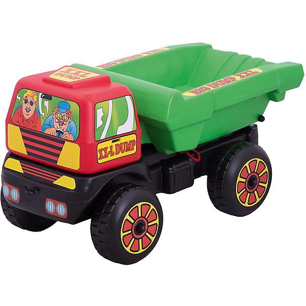 Большая машинка Dohany КамазМашинки<br>Характеристики:<br><br>• тип игрушки: камаз;<br>• возраст: от 3 лет;<br>• материал: пластик;<br>• вес:  5,2 кг;<br>• размер: 78х38х40 см;<br>• страна бренда: Венгрия;<br>• бренд: Dohany.<br><br>Камаз «Макси» Dohany станет достойным экземпляром в коллекции игрушечных автомобилей. Машинка обладает достаточными размерами-  78/38/40 см. для того, чтобы ребенок смог перевозить в ней небольшие предметы, игрушки, камни или песок. Игрушка изготовлена  из высококачественного, экологически безопасного пластика, соответствующего всем стандартам, санитарным требованиям и нормам, предъявляемым к продукции детского назначения.<br><br>Камаз «Макси» Dohany можно купить в нашем интернет-магазине.<br>Ширина мм: 780; Глубина мм: 380; Высота мм: 400; Вес г: 5200; Цвет: синий; Возраст от месяцев: 36; Возраст до месяцев: 2147483647; Пол: Мужской; Возраст: Детский; SKU: 7933663;