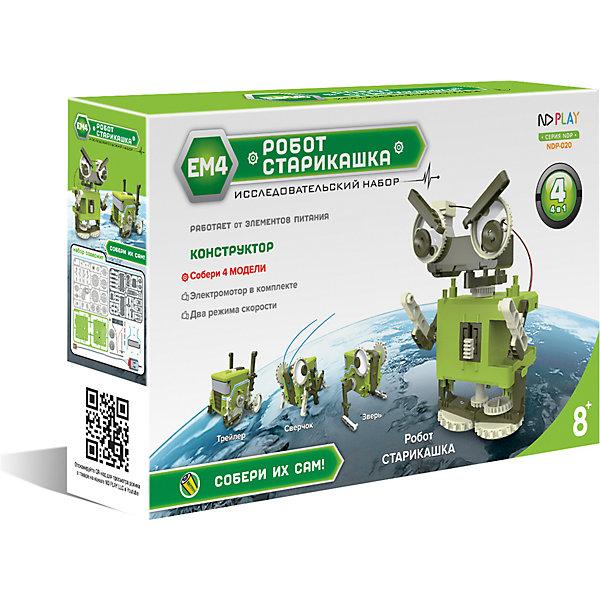 Купить Конструктор ND Play Робот-старикашка 4 в 1 , Китай, Унисекс