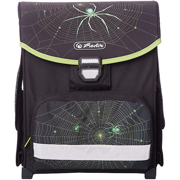 Купить Ранец Herlitz SMART Spider, без наполнения, herlitz, Германия, черный, Мужской