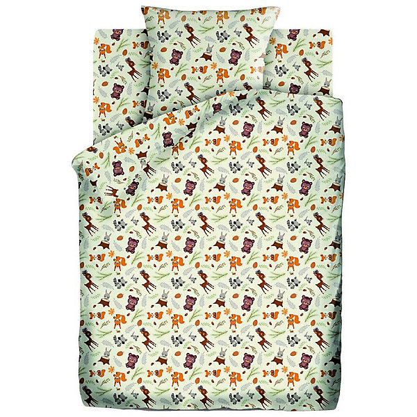 Детское постельное белье 3 предмета Кошки-Мышки, Маленькие зверушкиПостельное белье в кроватку новорождённого<br>Характеристики:<br><br>• тип: постельное белье;<br>• возраст: от 0 лет;<br>• материал: бязь;<br>• размер: 1,5 спальный;<br>• комплектация: пододеяльник, простынь, наволочка;<br>• размер наволочки: 40х60;<br>• вес: 1,5 кг;<br>• размер упаковки: 33х28х5 см;<br>• страна бренда: Россия;<br>• бренд: Кошки-мышки.<br><br>Комплект постельного белья «Маленькие зверушки», произведенный из 100% хлопка, обладает такими качествами как гипоаллергенность, экологичность и воздухопроницаемость, что очень важно для детского сна. Красивый набор из трех составляющих подойдет для любого ребенка.<br><br>Кроме того, такое белье дышащее, не нарушает естественные процессы терморегуляции, прочное, не линяет, не деформируется и не теряет своих красок даже после многочисленных стирок, а также отличается хорошей износостойкостью. Комплект состоит из пододеяльника, наволочки и простыни. <br><br>Комплект постельного белья «Маленькие зверушки»  можно купить в нашем интернет-магазине.<br>Ширина мм: 330; Глубина мм: 280; Высота мм: 50; Вес г: 1500; Цвет: разноцветный; Возраст от месяцев: 0; Возраст до месяцев: 36; Пол: Унисекс; Возраст: Детский; SKU: 7941071;