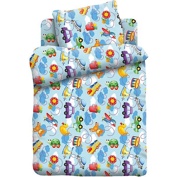 Детское постельное белье 3 предмета Кошки-Мышки, ИгрушкиПостельное белье в кроватку новорождённого<br>Характеристики:<br><br>• тип: постельное белье;<br>• возраст: от 0 лет;<br>• материал: бязь;<br>• размер: 1,5 спальный;<br>• комплектация: пододеяльник, простынь, наволочка;<br>• размер наволочки: 40х60;<br>• вес: 1,5 кг;<br>• размер упаковки: 33х28х5 см;<br>• страна бренда: Россия;<br>• бренд: Кошки-мышки.<br><br>Комплект постельного белья «Игрушки», произведенный из 100% хлопка, обладает такими качествами как гипоаллергенность, экологичность и воздухопроницаемость, что очень важно для детского сна. Красивый набор из трех составляющих подойдет для любого ребенка.<br><br>Кроме того, такое белье дышащее, не нарушает естественные процессы терморегуляции, прочное, не линяет, не деформируется и не теряет своих красок даже после многочисленных стирок, а также отличается хорошей износостойкостью. Комплект состоит из пододеяльника, наволочки и простыни. <br><br>Комплект постельного белья «Игрушки»  можно купить в нашем интернет-магазине.<br>Ширина мм: 330; Глубина мм: 280; Высота мм: 50; Вес г: 1500; Цвет: разноцветный; Возраст от месяцев: 0; Возраст до месяцев: 3; Пол: Мужской; Возраст: Детский; SKU: 7941075;