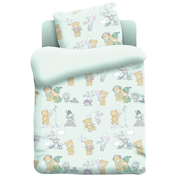 Комплект постельного белья детск. поплин Непоседа (40х60) рис. 13042-2 ТеддиПостельное белье в кроватку новорождённого<br>Комплект постельного белья  в детскую кроватку Тедди, произведенный из 100% хлопока, обладает такими качествами как гипоаллергенность, экологичность и воздухопроницаемость, что очень важно для детского сна.<br>Ширина мм: 330; Глубина мм: 280; Высота мм: 50; Вес г: 1500; Цвет: разноцветный; Возраст от месяцев: 0; Возраст до месяцев: 3; Пол: Унисекс; Возраст: Детский; SKU: 7941081;