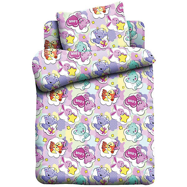 Комплект постельного белья детск. бязь Кошки-Мышки (40х60) рис. 8866-1 ЗверятаПостельное белье в кроватку новорождённого<br>Характеристики:<br><br>• тип: постельное белье;<br>• возраст: от 0 лет;<br>• материал: бязь;<br>• размер: 1,5 спальный;<br>• комплектация: пододеяльник, простынь, наволочка;<br>• размер наволочки: 40х60;<br>• вес: 1,5 кг;<br>• размер упаковки: 33х28х5 см;<br>• страна бренда: Россия;<br>• бренд: Кошки-мышки.<br><br>Комплект постельного белья «Зверята», произведенный из 100% хлопка, обладает такими качествами как гипоаллергенность, экологичность и воздухопроницаемость, что очень важно для детского сна. Красивый набор из трех составляющих подойдет для любого ребенка.<br><br>Кроме того, такое белье дышащее, не нарушает естественные процессы терморегуляции, прочное, не линяет, не деформируется и не теряет своих красок даже после многочисленных стирок, а также отличается хорошей износостойкостью. Комплект состоит из пододеяльника, наволочки и простыни. <br><br>Комплект постельного белья «Зверята»  можно купить в нашем интернет-магазине.<br>Ширина мм: 330; Глубина мм: 280; Высота мм: 50; Вес г: 1500; Цвет: разноцветный; Возраст от месяцев: 0; Возраст до месяцев: 3; Пол: Женский; Возраст: Детский; SKU: 7941101;