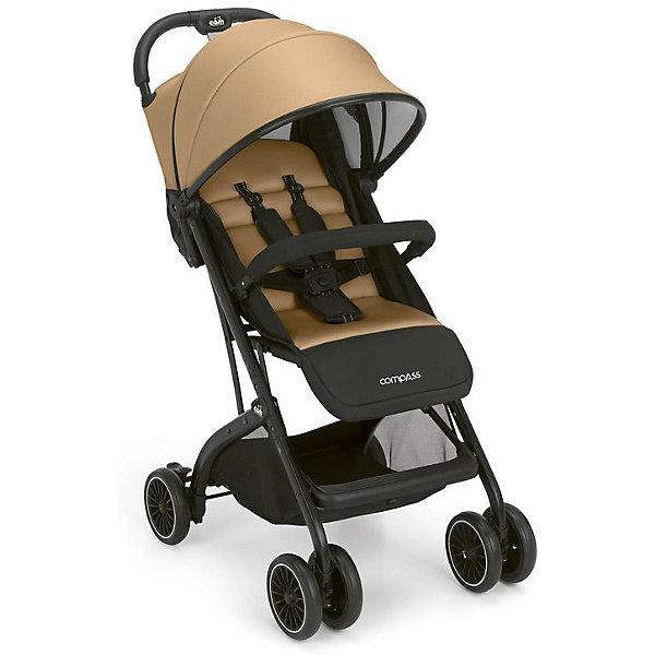 Прогулочная коляска CAM Compass, золотаяСезон весна-лето<br>Легкая (всего 7,86кг) и компактная (всего 57см в высоту), с алюминиевой рамой, с выдвижным капюшоном, который превращается в зонт с москитной сеткой. Спинка регулируется в нескольких положениях. Коляску можно использовать с рождения. Боковые вентиляционные отверстия обеспечивают хорошую вентиляцию воздуха в жаркую погоду. Широкое сидение, складывание коляски одной рукой, регулируемая по высоте подножка, встроенная накидка на ножки, бампер, передние поворотные колеса с возможностью их фиксации, задние колеса с тормозом, 5-ти точечный ремень безопасности с мягкими плечевыми накладками, мягкие передняя и задняя подвески, просторная корзина с магнитной застежкой. Супер компактное складывание, вертикальная устойчивость в сложенном состоянии. Легко везти за собой благодаря выдвижной ручке для перевоз<br>Ширина мм: 465; Глубина мм: 265; Высота мм: 590; Вес г: 9450; Цвет: желтый; Возраст от месяцев: 0; Возраст до месяцев: 36; Пол: Унисекс; Возраст: Детский; SKU: 7941105;