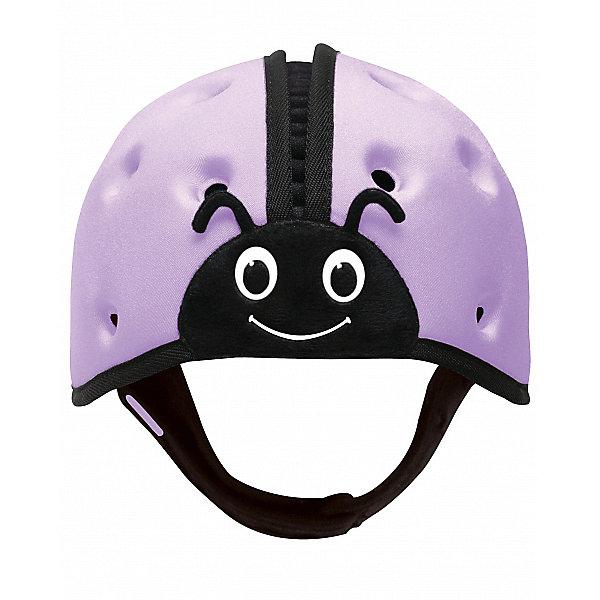 Купить Мягкая шапка-шлем для защиты головы SafeheadBABY Божья коровка , , фиолетовый, SafeheadBABY, Китай, Унисекс