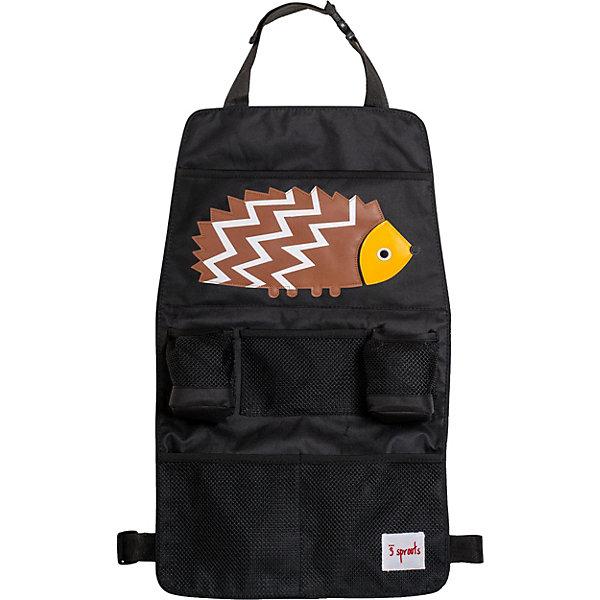 Купить Органайзер на спинку сидения автомобиля 3 Sprouts Коричневый ёжик (Brown Hedgehog SPR1103). Арт. 00029, Китай, коричневый, Унисекс