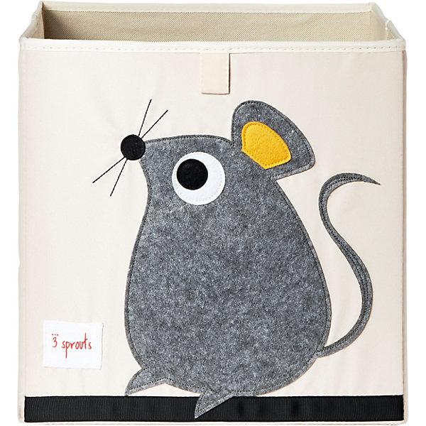 Коробка для хранения 3 Sprouts Серая мышка (Gray Mouse SPR412). Арт. 00041Ящики для игрушек<br>Характеристики:<br><br>• возраст: с рождения;<br>• материал: 100% полиэстер, 100% полиэстровая фетровая аппликация;<br>• размер коробки: 33х33х33 см;<br>• вес упаковки: 514 гр.;<br>• размер упаковки: 25х2х45 см;<br>• страна бренда: Канада.<br><br>Коробка для хранения игрушек 3 Sprouts «Серая мышка» организует пространство в детской. В коробке легко поместятся книжки, игрушки или белье. Ее можно установить отдельно или в открытую секцию шкафа.<br><br>Изделие имеет интересный дизайн с аппликацией, приятно на ощупь, что важно для развития тактильных ощущений у малыша.<br><br>Стенки коробки усилены картоном. Выполнено из качественных безопасных материалов.<br><br>Коробку для хранения 3 Sprouts «Серая мышка» можно купить в нашем интернет-магазине.<br>Ширина мм: 25; Глубина мм: 2; Высота мм: 45; Вес г: 514; Цвет: серый; Возраст от месяцев: 0; Возраст до месяцев: 144; Пол: Унисекс; Возраст: Детский; SKU: 7943075;