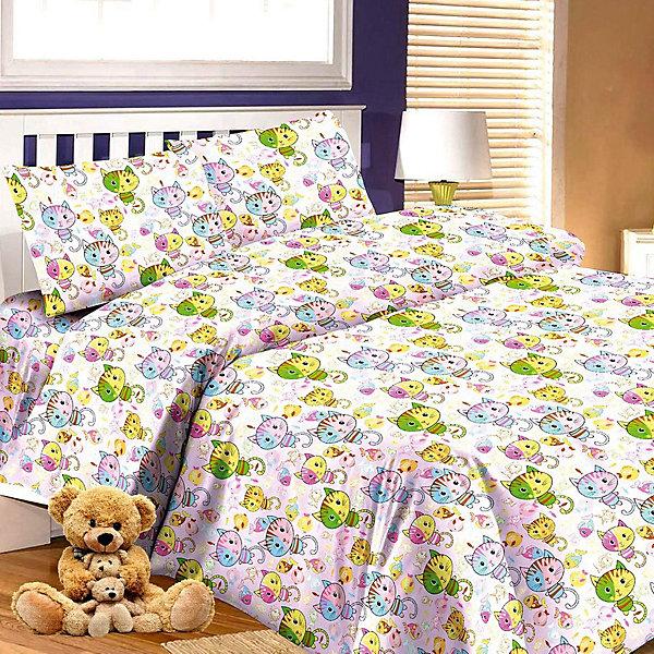 Детское постельное белье 1,5 сп. Letto,Коты,розовыйДетское постельное бельё<br>Характеристики:<br><br>• в комплекте: простыня, пододеяльник, наволочка;<br>• размер комплекта: полутораспальный;<br>• тип ткани: 100% хлопок;<br>• цвет: розовый;<br>• рисунок: печатный принт;<br>• уход за вещами: бережная стирка при 30 градусах;<br>• размер пододеяльника: 145 х 210 см.;<br>• размер наволочки: 50 х 70 см.;<br>• размер простыни: 150 х 210 см.;<br>• размер упаковки: 37 х 5 х 30 см.;<br>• вес: 1,5 кг.;<br>• бренд, страна: Letto, Россия.<br><br>Красивый и качественный комплект постельного белья от торговой марки Letto состоит из простыни, наволочки и пододеяльника. Эта модель произведена из плотного хлопка, полотняного плетения, группы перкаль, с использованием современных устойчивых и в то же время, гипоаллергенных красителей. Такое белье прослужит долго и выдержит много стирок. <br><br>Комплект с ярким веселым сюжетным принтом можно разглядывать бесконечно, он обязательно понравится вашему малышу и подарит ребенку приятные сны и комфортный отдых. Добавит теплоты и уюта в интерьер детской комнаты.<br><br>Все комплекты снабжены потайной молнией на пододеяльнике, что делает ее их еще более практичными в использовании. <br><br>Детское постельное белье 1,5 сп. Letto, Коты, розовый вы можете купить в нашем интернет-магазине.<br>Ширина мм: 300; Глубина мм: 370; Высота мм: 50; Вес г: 1500; Цвет: розовый; Возраст от месяцев: 36; Возраст до месяцев: 144; Пол: Женский; Возраст: Детский; SKU: 7949248;