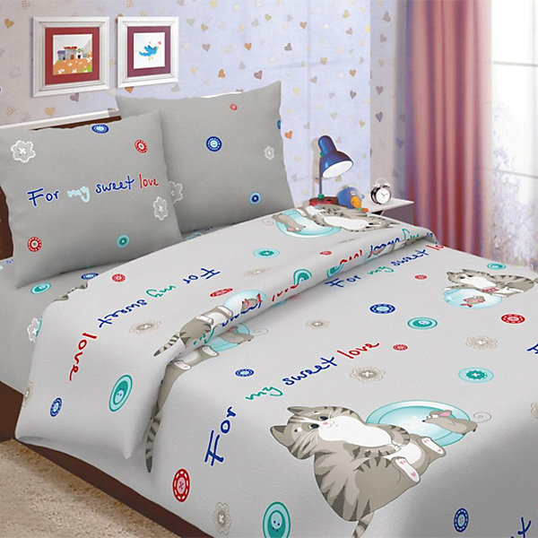Детское постельное белье 1,5 сп. Letto, КоржикДетское постельное бельё<br>Характеристики:<br><br>• в комплекте: простыня, пододеяльник, наволочка;<br>• размер комплекта: полутораспальный;<br>• тип ткани: бязь (100% хлопок);<br>• цвет: серый;<br>• рисунок: печатный принт;<br>• уход за вещами: бережная стирка при 30 градусах;<br>• размер пододеяльника: 145 х 210 см.;<br>• размер наволочки: 50 х 70 см.;<br>• размер простыни: 150 х 210 см.;<br>• размер упаковки: 37 х 5 х 30 см.;<br>• вес: 1,5 кг.;<br>• бренд, страна: Letto, Россия.<br><br>Красивый и качественный комплект постельного белья от торговой марки Letto состоит из простыни, наволочки и пододеяльника. Эта модель произведена из плотного хлопка, полотняного плетения, группы перкаль, с использованием современных устойчивых и в то же время, гипоаллергенных красителей. Такое белье прослужит долго и выдержит много стирок. <br><br>Комплект с ярким веселым сюжетным принтом можно разглядывать бесконечно, он обязательно понравится вашему малышу и подарит ребенку приятные сны и комфортный отдых. Добавит теплоты и уюта в интерьер детской комнаты.<br><br>Детское постельное белье 1,5 сп. Letto, Коржик, серый вы можете купить в нашем интернет-магазине.<br>Ширина мм: 300; Глубина мм: 370; Высота мм: 50; Вес г: 1500; Цвет: серый; Возраст от месяцев: 36; Возраст до месяцев: 144; Пол: Унисекс; Возраст: Детский; SKU: 7949262;