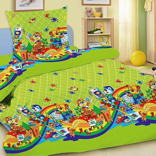 Детское постельное белье 3 предмета Letto, простыня на резинке, BGR-27Постельное белье в кроватку новорождённого<br>Характеристики:<br><br>• в комплекте: простыня, пододеяльник, наволочка;<br>• тип комплекта: ясли;<br>• тип ткани: 100% хлопок;<br>• цвет: зеленый;<br>• рисунок: печатный принт;<br>• уход за вещами: бережная стирка при 30 градусах;<br>• размер пододеяльника: 145 х 110 см.;<br>• размер наволочки: 40 х 60 см.;<br>• размер простыни: 100 х 150 см.;<br>• размер упаковки: 20 х 6 х 25 см.;<br>• вес: 700 гр.;<br>• бренд, страна: Letto, Россия.<br><br>Комплект постельного белья в кроватку с простыней на резинке в хлопковом исполнении и с хорошими устойчивыми красителями - по очень доступной цене!  Все комплекты Российского производителя Letto снабжены потайной молнией на пододеяльнике, что делает ее их еще более практичными в использовании. <br><br>Комплект зеленого цвета с ярким веселым сюжетным рисунком обязательно понравится вашему малышу и подарит приятные сны и комфортный отдых. Наполнит интерьер детской комнаты атмосферой уюта.<br><br>Комплект в кроватку Letto Ясли BGR-27 можно купить в нашем магазине.<br>Ширина мм: 250; Глубина мм: 200; Высота мм: 60; Вес г: 700; Цвет: зеленый; Возраст от месяцев: 0; Возраст до месяцев: 36; Пол: Унисекс; Возраст: Детский; SKU: 7949308;