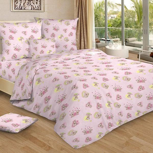 Детское постельное белье 1,5 сп. Letto,Мими, розовыйДетское постельное бельё<br>Характеристики:<br><br>• в комплекте: простыня, пододеяльник, наволочка;<br>• размер комплекта: полутораспальный;<br>• тип ткани: бязь (100% хлопок);<br>• цвет: розовый;<br>• рисунок: печатный принт;<br>• уход за вещами: бережная стирка при 30 градусах;<br>• размер пододеяльника: 145 х 210 см.;<br>• размер наволочки: 50 х 70 см.;<br>• размер простыни: 150 х 210 см.;<br>• размер упаковки: 37 х 5 х 30 см.;<br>• вес: 1,5 кг.;<br>• бренд, страна: Letto, Россия.<br><br>Красивое и качественное постельное белье от торговой марки Letto подарит ребенку приятные сны и комфортный отдых. Комплект состоит из простыни, наволочки и пододеяльника, изготовленных из хлопка. Все комплекты снабжены потайной молнией на пододеяльнике, что делает ее их еще более практичными в использовании. <br><br>Яркий комплект постельного белья в хлопковом исполнении и с хорошими устойчивыми красителями - по очень доступной цене! Эта модель произведена из традиционной российский бязи, плотного плетения. Такое белье прослужит долго и выдержит много стирок.<br><br>Комплект в нежных розовых тонах с изображением милых мишек обязательно понравится вашей малышке, подарит комфортный сон и приятное пробуждение, а атмосфера спальни наполнится теплотой и уютом. <br><br>Детское постельное белье 1,5 сп. Letto, Мими, розовый вы можете купить в нашем интернет-магазине.<br>Ширина мм: 300; Глубина мм: 370; Высота мм: 50; Вес г: 1500; Цвет: розовый; Возраст от месяцев: 36; Возраст до месяцев: 144; Пол: Женский; Возраст: Детский; SKU: 7949314;
