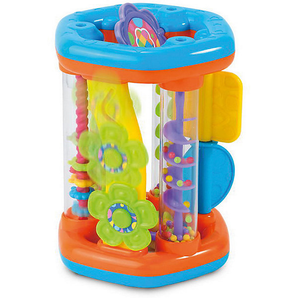 Развивающая игрушка HAP-P-KID КаруселькаИгрушки для новорожденных<br>Характеристики:<br><br>• возраст: от 6 месяцев<br>• материал: пластик<br>• не требует батареек<br>• упаковка: картонная коробка открытого типа<br>• размер упаковки: 15,6x15,2x22,8 см.<br>• вес: 600 гр.<br><br>Яркая развивающая игрушка «Каруселька» с элементами погремушки от Hap-p-Kid (Хэп-п-Кид) сочетает в себе восемь подвижных, разноцветных элементов различной формы.<br><br>Играя с Каруселькой, малыш будет наблюдать за скатыванием шариков в желобке, передвигать цветочек, перебрасывать колечки, двигать лопасти. При движении игровые элементы забавно гремят. Каруселька может стоять вертикально, а также катиться по полу, стимулируя двигательную активность ребенка.<br><br>Игрушка изготовлена из ударопрочного пластика высокого качества и соответствует все современным нормам безопасности. Не имеет острых углов или зазубрин.<br><br>Занятия с игрушкой развивают воображение, моторику, координацию движений, цветовосприятие, помогают познавать мир.<br><br>Развивающую игрушку HAP-P-KID Каруселька можно купить в нашем интернет-магазине.<br>Ширина мм: 156; Глубина мм: 152; Высота мм: 228; Вес г: 600; Возраст от месяцев: 12; Возраст до месяцев: 36; Пол: Унисекс; Возраст: Детский; SKU: 7958322;