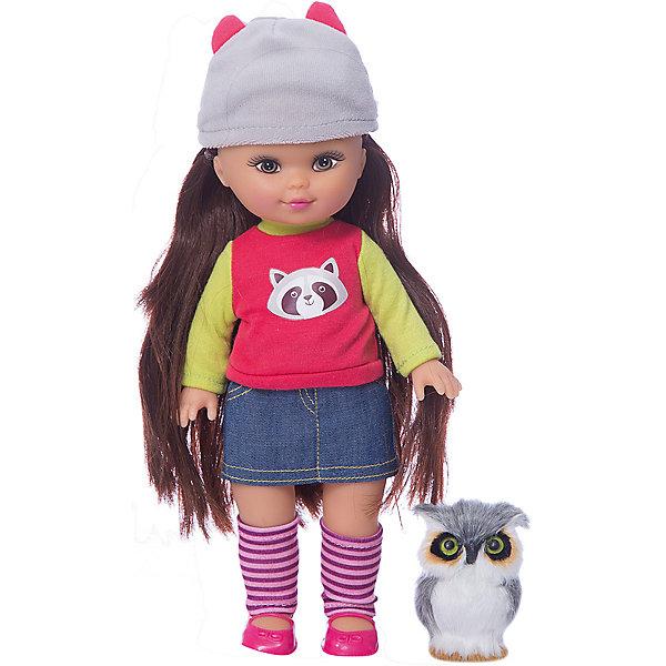 Кукла Mary Poppins Элиза. Мой милый пушистик, 26см, енот.Куклы<br>Характеристики:<br><br>• возраст: 3+;<br>• материал: ПВХ, пластмасса, текстиль;<br>• высота куклы: 26 см;<br>• габариты упаковки: 22х7х30 см;<br>• вес: 430 г.<br><br>Милая кукла очень похожа на настоящую девочку. Кукла Элиза одета в джинсовую юбку и кофту с изображением енота, на ногах у нее полосатые гольфы, а на голове – розовая шапочка.<br><br>Длинные волосы можно расчесывать и даже укладывать в прическу. У Элизы есть маленький пушистый питомец – совенок. Его так приятно гладить по нежным перышкам.<br><br>Любая девочка любит играть с куклами, наряжать их и причесывать. У Элизы подвижные руки и ноги, благодаря чему с ней еще интереснее играть.<br><br>Игрушка изготовлена из гипоаллергенных материалов.<br><br>Куклу «Элиза. Мой милый пушистик» (26 см, енот), Mary Poppins можно приобрести в нашем интернет-магазине.<br>Ширина мм: 220; Глубина мм: 70; Высота мм: 300; Вес г: 430; Возраст от месяцев: 36; Возраст до месяцев: 2147483647; Пол: Женский; Возраст: Детский; SKU: 7959901;