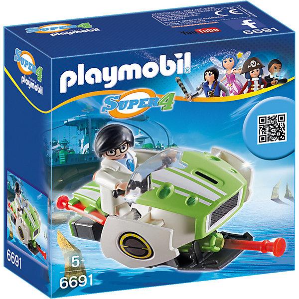 Конструктор Playmobil Супер 4 СкайджетПластмассовые конструкторы<br>Характеристики товара:<br><br>• возраст: от 5 лет;<br>• материал: пластик;<br>• в комплекте: фигурка, летательный аппарат, аксессуары;<br>• размер упаковки: 14,2х14,2х6,6 см;<br>• вес упаковки: 156 гр.;<br>• страна бренда: Германия.<br><br>Игровой набор «Супер 4: Скайджет» Playmobil создан по мотивам известного мультсериала «Суперчетверка». Набор включает в себя фигурку Альберта и его летательный аппарат Скайджет. Люк на передней стороне Скайджета открывается, внутри пушка, которая стреляет снарядами. Снаряды могут быть закреплены на задней части Скайджета.<br><br>Игровой набор «Супер 4: Скайджет» Playmobil можно приобрести в нашем интернет-магазине.<br>Ширина мм: 142; Глубина мм: 66; Высота мм: 142; Вес г: 156; Возраст от месяцев: 60; Возраст до месяцев: 84; Пол: Мужской; Возраст: Детский; SKU: 7965987;