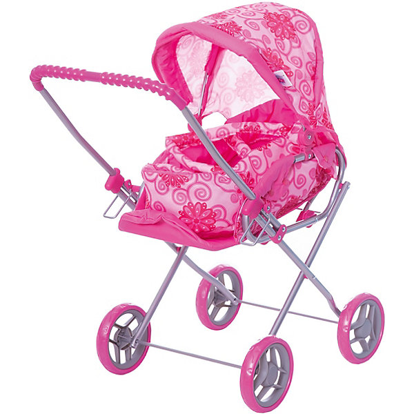 Купить Коляска - трансформер Buggy Boom, с цветами, розовый с цветами, Китай, Женский
