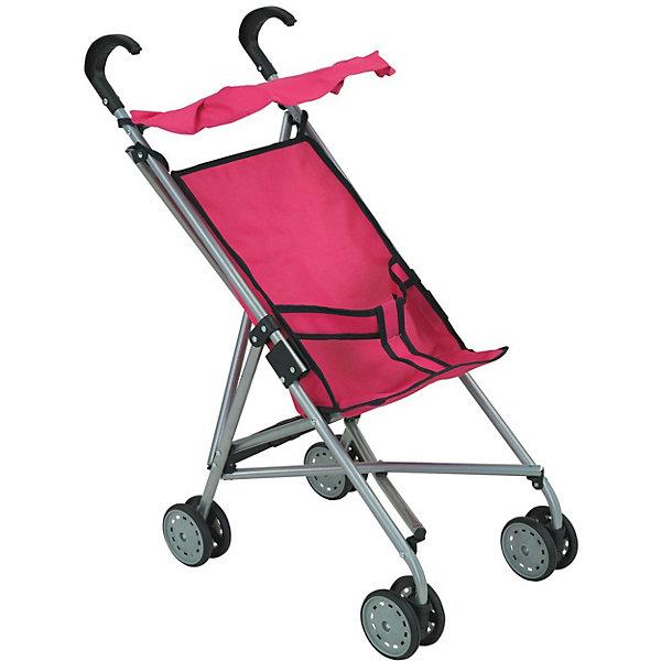 Купить Коляска-трость для кукол Buggy Boom, розовая, Китай, розовый, Женский