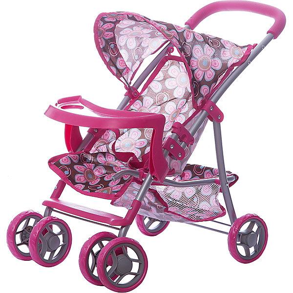 Коляска - трансформер Buggy Boom , розово-бежевый с цветамиТранспорт и коляски для кукол<br>Характеристики товара:<br><br>• возраст: от 3 лет;<br>• материал: полиэстер, пластик, металл;<br>• размер коляски: 52х35х56 см;<br>• диаметр колес: 15 см;<br>• размер упаковки: 49х31х16 см;<br>• вес упаковки: 2,02 кг.<br><br>Коляска для кукол Buggy Boom Skyna розово-бежевая с цветами — прогулочная коляска для любимой куколки девочки. Коляска оснащена удобным сидением для куклы, ручкой управления, капюшоном. В сидении куколка пристегивается ремешком безопасности. На сидении предусмотрен пластиковый столик для кормления куколки. Сидение выполнено из полиэстера, который легко моется по мере загрязнения. <br><br>Передние сдвоенные колеса вращаются на 360 градусов, делая коляску маневренной. Сзади вместительная корзинка для вещей или игрушек. Небольшой вес коляски позволяет без труда управлять ей, выносить самостоятельно на прогулку и переносить. Для безопасности предусмотрена система защиты от случайного складывания. Рама выполнена из облегченного металла и устойчива к повреждениям. Коляска подойдет для кукол до 35 см.<br><br>Коляску для кукол Buggy Boom Skyna розово-бежевую с цветами можно приобрести в нашем интернет-магазине.<br>Ширина мм: 490; Глубина мм: 160; Высота мм: 310; Вес г: 2020; Цвет: бежевый; Возраст от месяцев: 36; Возраст до месяцев: 60; Пол: Женский; Возраст: Детский; SKU: 7969275;