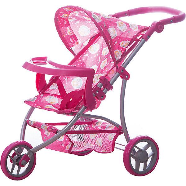 Купить Коляска - трансформер Buggy Boom, с рисунком, розовый с рисунком, Китай, Женский