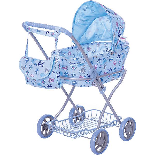 Коляска для кукол Buggy Boom , голубой с бантикамиТранспорт и коляски для кукол<br>Характеристики товара:<br><br>• возраст: от 2 лет;<br>• материал: полиэстер, пластик, металл;<br>• в комплекте: коляска, сумка;<br>• размер коляски: 69х40х80 см;<br>• диаметр колес: 15 см;<br>• размер упаковки: 65х41х8 см;<br>• вес упаковки: 2,535 кг.<br><br>Коляска для кукол Buggy Boom Mixy голубая с бантиками — коляска-люлька для любимой куколки девочки. Коляска оснащена удобной ручкой для управления, большими колесами и капюшоном. Внизу корзина для перевозки вещей. А удобная сумочка на ручку коляски позволит девочке взять необходимые вещи на прогулку. <br><br>Сидение выполнено из полиэстера, который легко моется по мере загрязнения. Небольшой вес коляски позволяет без труда управлять ей, выносить самостоятельно на прогулку и переносить. Рама выполнена из облегченного металла и устойчива к повреждениям. Коляска подойдет для кукол до 55 см.<br><br>Коляску для кукол Buggy Boom Mixy голубая с бантиками можно приобрести в нашем интернет-магазине.<br>Ширина мм: 650; Глубина мм: 410; Высота мм: 80; Вес г: 2535; Цвет: синий; Возраст от месяцев: 24; Возраст до месяцев: 36; Пол: Женский; Возраст: Детский; SKU: 7969410;