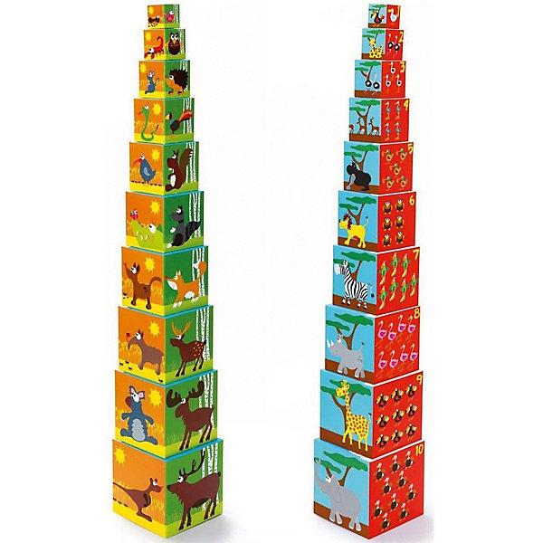 Кубики SCRATCH Животные мираКубики<br>Характеристики товара:<br><br>• возраст: от 1 года;<br>• количество деталей: 10 шт;<br>• материал: картон;<br>• размер упаковки: 16х16х15 см;<br>• вес упаковки: 835 гр.;<br>• страна бренда: Бельгия.<br><br>Кубики SCRATCH Животные мира помогают детям с раннего возраста развивать воображение, фантазию и коммуникативные навыки. Во время игры с кубиками у ребенка развивается мелкая моторика, логическое мышление, малыши учатся считать. <br><br>Кубики сделаны из плотного картона, они легкие, ребенок не сможет ими пораниться. Игрушка выполнена из качественных материалов, безопасных для здоровья ребенка, не вызывающих аллергии. <br><br>Кубики SCRATCH Животные мира можно купить в нашем интернет-магазине.<br>Ширина мм: 150; Глубина мм: 150; Высота мм: 150; Вес г: 428; Возраст от месяцев: 144; Возраст до месяцев: 24; Пол: Унисекс; Возраст: Детский; SKU: 7976146;