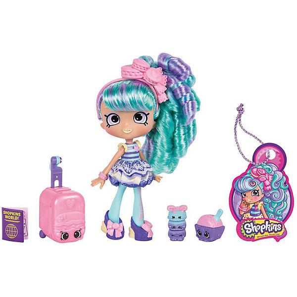 Мини-кукла Moose Shopkins Путешествие в Европу, Мари МакарунКуклы<br>Характеристики:<br><br>• возраст: от 5 лет;<br>• материал: пластик;<br>• в наборе: кукла, 2 фигурки Shopkins, чемодан, паспорт, багажная бирка, подставка для куклы;<br>• вес упаковки: 230 гр.;<br>• размер упаковки: 17х7х27 см;<br>• страна бренда: Австралия.<br><br>Куколка Shoppies серии «Путешествие в Европу» от бренда Moose выполнена в красочном дизайне под стиль европейской страны. Цветные волосы можно расчесывать. У куклы есть друзья – две забавные фигурки в виде еды. Номер на документе куклы открывает доступ к игровым мобильным приложениям.<br><br>Для устойчивого положения игрушки предусмотрена подставка. Набор выполнен из качественных безопасных материалов.<br><br>Куклу Shoppies Мари Макарун «Путешествие в Европу» можно купить в нашем интернет-магазине.<br>Ширина мм: 270; Глубина мм: 178; Высота мм: 170; Вес г: 230; Цвет: синий; Возраст от месяцев: 60; Возраст до месяцев: 2147483647; Пол: Женский; Возраст: Детский; SKU: 7979564;