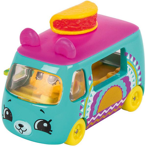 Купить Игровой набор Moose Cutie Car Машинка с мини-фигуркой Shopkins, Traveling Taco, Китай, синий, Женский