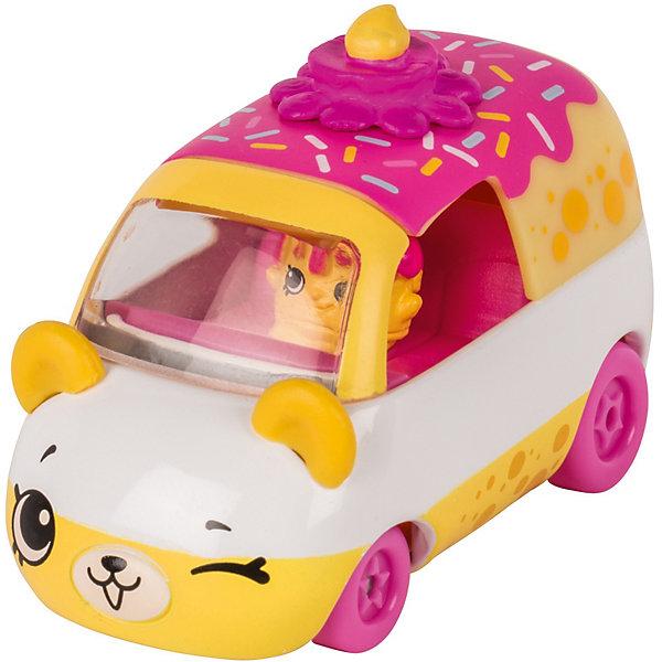 Купить Игровой набор Moose Cutie Car Машинка с мини-фигуркой Shopkins, Wheely Wishes, Китай, розовый, Женский