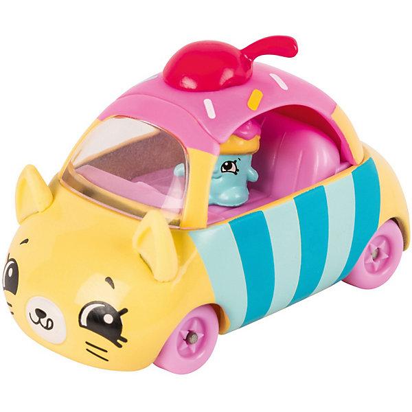 Купить Игровой набор Moose Cutie Car Машинка с мини-фигуркой Shopkins, Cupcake Cruiser, Китай, розовый, Женский