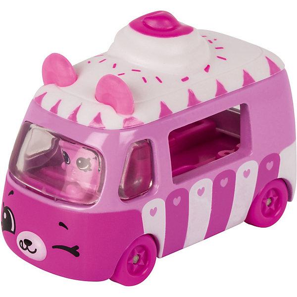 Купить Игровой набор Moose Cutie Car Машинка с мини-фигуркой Shopkins, Ice cream Dream car, Китай, розовый, Женский