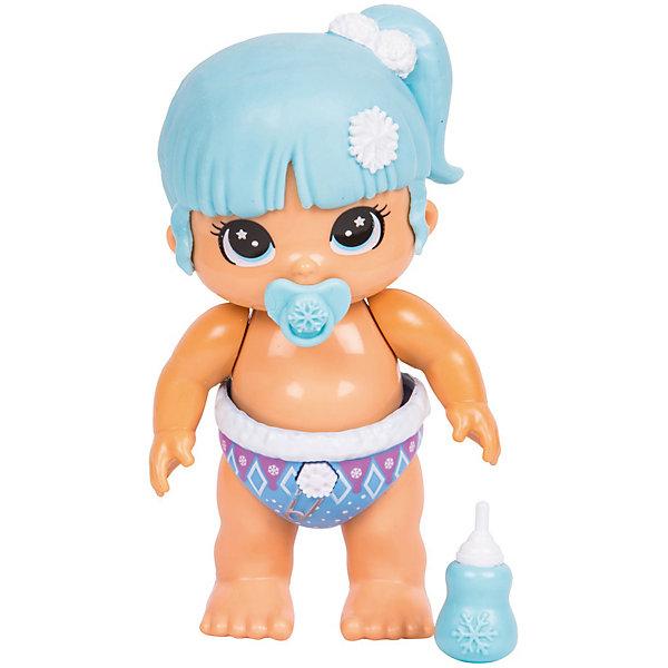 Купить Интерактивная кукла Moose Bizzy Bubs Снежный Лучик, Китай, синий, Женский