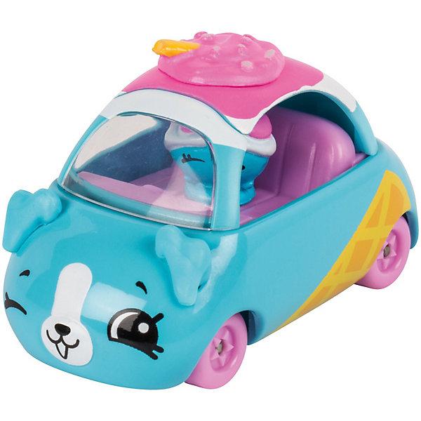 Купить Игровой набор Moose Cutie Car Машинка с мини-фигуркой Shopkins, Sundae Scooter, Китай, синий, Женский