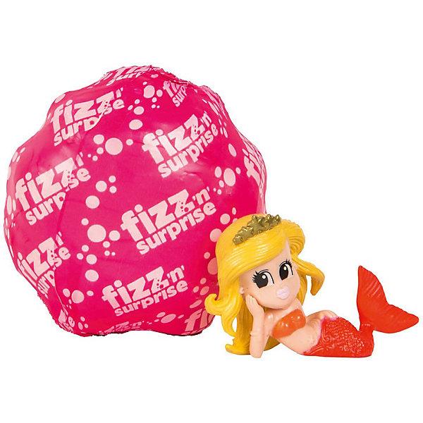 Шипучее сердечко Moose Fizz N Surprise Волшебная русалкаИгровые наборы с фигурками<br>Характеристики:<br><br>• возраст: от 4 лет;<br>• материал: пластик;<br>• в наборе: шипучая ракушка, фигурка русалки;<br>• вес упаковки: 110 гр.;<br>• размер упаковки: 18,6х4,7х15,2 см;<br>• страна бренда: Австралия;<br>• упаковка: блистер;<br>• товар в ассортименте.<br><br>Шипучая ракушка FIZZ N Surprise «Волшебная русалка» от бренда Moose раскроется малышу, как только попадет в емкость с водой. Нужно поместить ракушку в воду, она начнет шипеть и растворяться, а внутри ребенок найдет фигурку русалочки, меняющую цвет в зависимости от температуры воды.<br><br>Всего в коллекции 12 фигурок. Какая именно попадется в наборе узнать заранее невозможно. Игрушка поставляется в яркой упаковке с окошком. Выполнено из качественных безопасных материалов.<br><br>Шипучую ракушку FIZZ N Surprise «Волшебная русалка» можно купить в нашем интернет-магазине.<br>Ширина мм: 186; Глубина мм: 47; Высота мм: 152; Вес г: 110; Цвет: красный; Возраст от месяцев: 48; Возраст до месяцев: 2147483647; Пол: Женский; Возраст: Детский; SKU: 7979606;