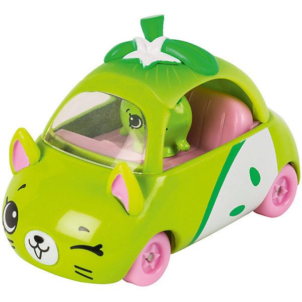 Купить Игровой набор Moose Cutie Car Машинка с мини-фигуркой Shopkins, Peely Apple Wheels, Китай, светло-зеленый, Женский